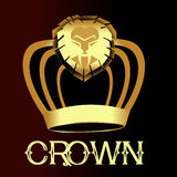 Gold Crown - Illustration Stock Photography