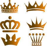 Gold Crown Royalty Free Stock Photo