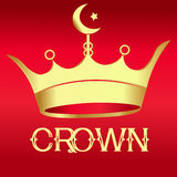 Gold Crown - Illustration Royalty Free Stock Image