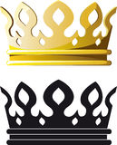 Gold Crown Stock Photography