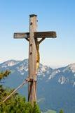Gold crucifix Stock Photo