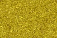 Gold crumpled foil texture background, render Royalty Free Stock Photography