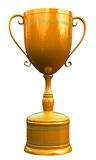 Gold cup Stock Photo
