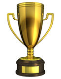 Gold Cup, Award. Royalty Free Stock Photography