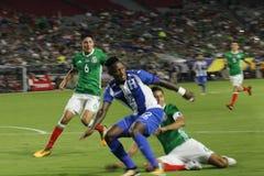 Mexico vs Honduras Royalty Free Stock Images