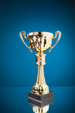 Gold cup trophy Royalty Free Stock Images