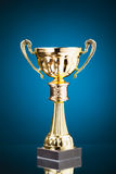 Gold cup trophy Stock Photography