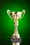 Gold cup trophy Royalty Free Stock Photo