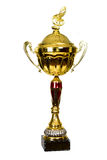Gold Cup, the trophy for winning the Song Festival Royalty Free Stock Images