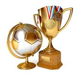 Gold cup winner Royalty Free Stock Photo