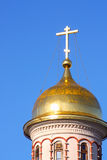 Gold cupola Stock Photos