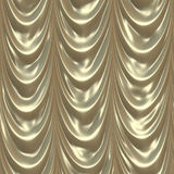 Gold curtain Stock Images