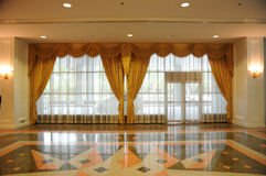 Gold curtain Royalty Free Stock Photography