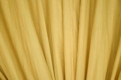 Gold curtain or drapery texture Stock Photo