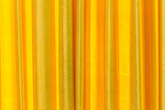 Gold Curtain on stage. Stock Photography