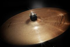 Gold Cymbals Royalty Free Stock Photos