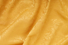 Gold damask floral wavy texture background Royalty Free Stock Photos