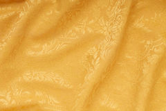 Gold damask floral wavy texture background Royalty Free Stock Photography