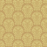 Gold Damask Pattern Stock Images