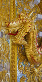 Gold dargon Stock Photography