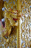 Gold dargon Royalty Free Stock Images