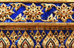 Gold decor Royalty Free Stock Photography