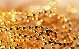 Gold decor Royalty Free Stock Image