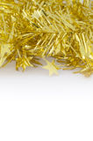 Gold Decoration for Christmas and New Year Royalty Free Stock Photo