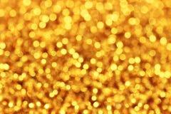 Gold defocused background Stock Image