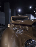 Gold 1937 Delage D8-120 Coupe Aerosport Royalty Free Stock Photos