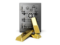 Gold Deposit Royalty Free Stock Photos
