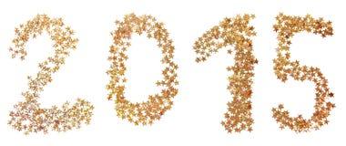 Gold des neuen Jahres Lizenzfreie Stockfotos