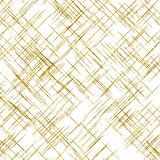 Gold Diagonal Lines Faux Foil Metallic Background Stock Photo