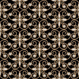 Gold diamond pattern Stock Photography