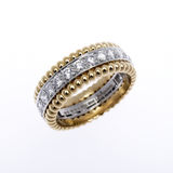 Gold and Diamond ring Royalty Free Stock Photography