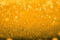 Gold diamond shiny glitter abstract bokeh for christmas background. Gold diamond shiny glitter abstract bokeh for christmas or merry background Stock Image