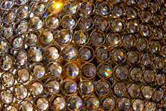 Gold, diamonds, crystal Stock Photography