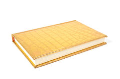 Gold diary Stock Image