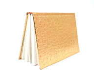 Gold diary Stock Images