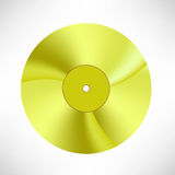Gold Disc Royalty Free Stock Photography