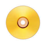Gold Disk Stock Photo