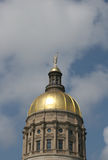 Gold Dome 2. State Capitol building in Atlanta, Georgia Royalty Free Stock Image