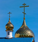 Gold domes Royalty Free Stock Photo