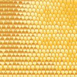 Gold doodle hand-made abstract background Royalty Free Stock Photography