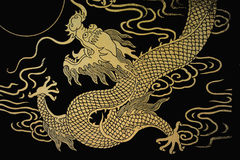 Gold Dragon Royalty Free Stock Image