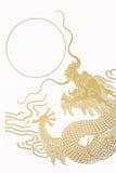 Gold Dragon Royalty Free Stock Image