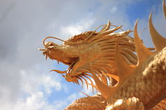 Gold Dragon Royalty Free Stock Photo