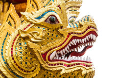 Gold dragon Royalty Free Stock Photography