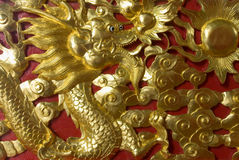 Gold dragon Stock Photo