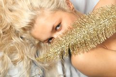 Gold dream Royalty Free Stock Images